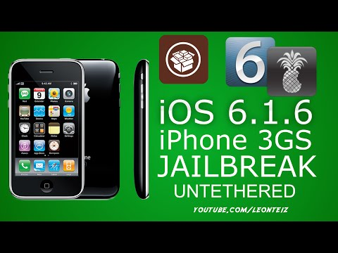 How To Jailbreak iOS 6.1.6 Untethered iPhone 3GS with RedSn0w and P0sixsPWN