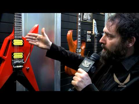 Dean Guitars 2014 N.A.M.M. Zoltan Bathory AR-6