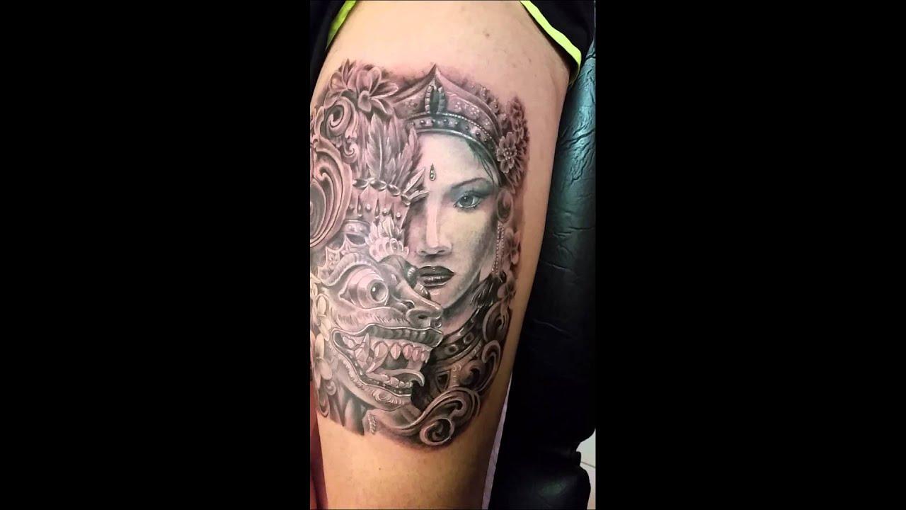 Balinese Tattoo Bali Tattoo Balinese Dancer And