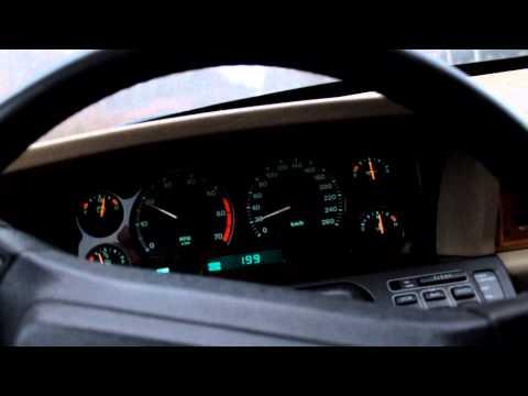 Jaguar XJ40 acceleration 0-100 1993
