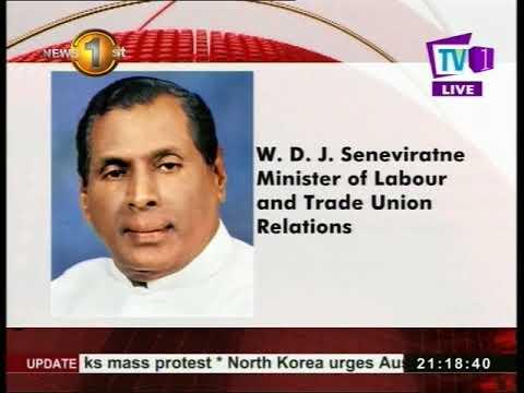 minister w.d.j. sene|eng
