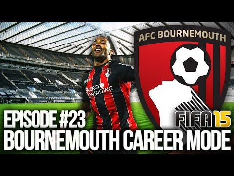 FIFA 15: BOURNEMOUTH CAREER MODE #23 - TWO BIG GAMES!