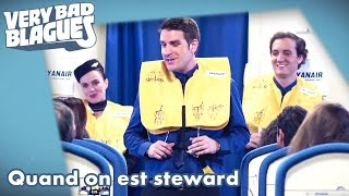 Quand on est steward - Palmashow