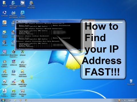 How do I find my IP address - How to find my IP address fast & free