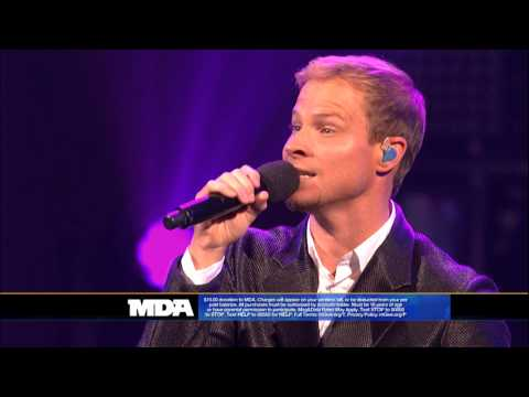 Backstreet Boys in A World Like This i Want It That Way - 2013 Mda Telethon Performance video