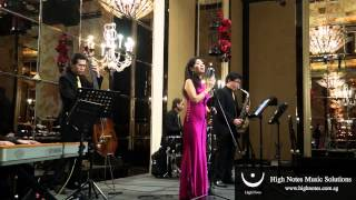 Imelda Teo performs 最浪漫的事 Zui Lang Man De Shi with The Shanghai Swingers
