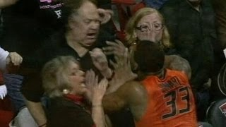 Oklahoma State Basketball Player Shoves Fan in Loss
