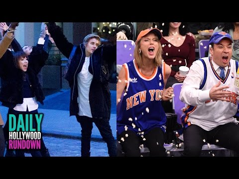 Justin Bieber's Weird Cameo In Carly Rae Jepsen Video-taylor Swift Dances & Draws W  Jimmy Fallon video