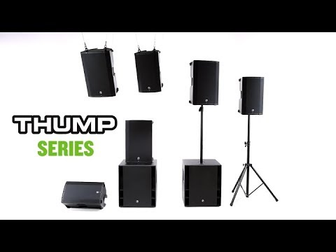 Mackie Thump 2017 Series Overview: Thump12A, Thump15A, Thump12BST, & Thump15BST