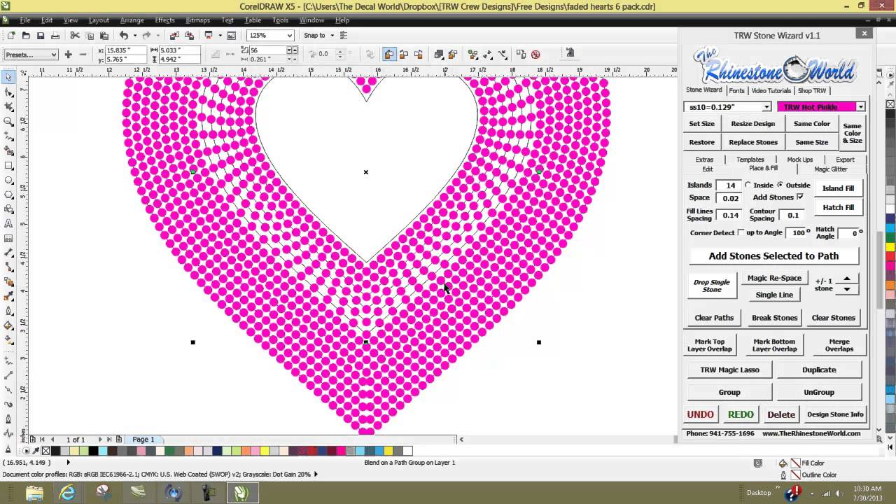 Free Rhinestone Template Software Shoesletter