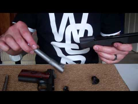 How to disassemble and reassemble a 1911 tutorial