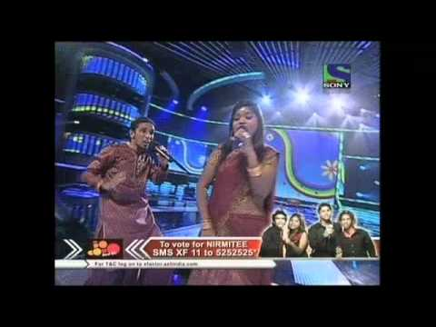 X Factor India - Nirmitees superb alteration of Sawan Ka Mahina...