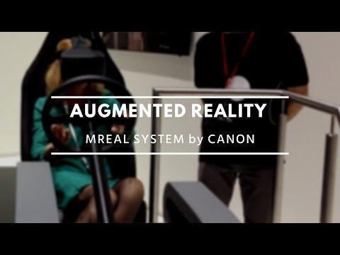 Canon MREAL System, Mixed Reality / Canon EXPO 2015 Paris