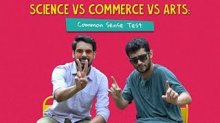 Science Vs Commerce Vs Arts: Common Sense Test | Ft. Arushi & Kanishk | Ok Tested