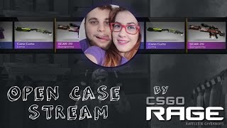OPEN CASE STREAM BY CSGORAGE.COM ♥