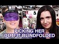 I Picked My Girlfriend's Outfit Blindfolded