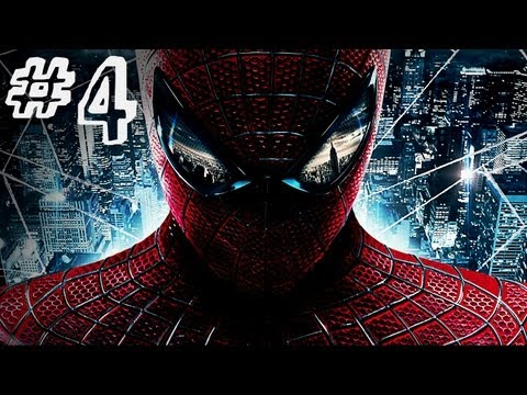 The Amazing Spider-Man - Gameplay Walkthrough - Part 4 - RHINO CREATURE (Video Game)