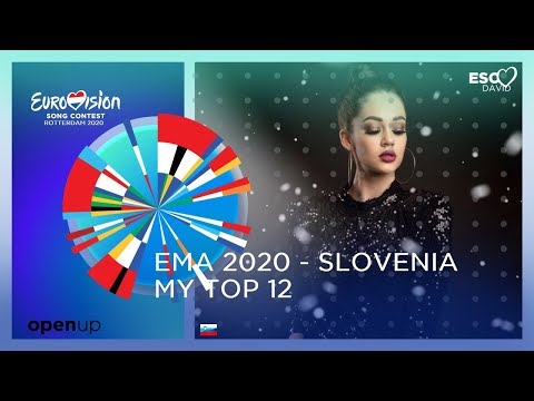 My Top 12 ● EMA 2020 - Slovenia | Eurovision Song Contest 2020