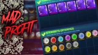 BUYING THE WONDERMENT SET FOR INSANE UNDERPAY! *OMG!* | RICH TRADING MONTAGE EP58 | Rocket League