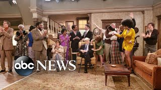 Behind the scenes of Jimmy Kimmel's 1970s remakes