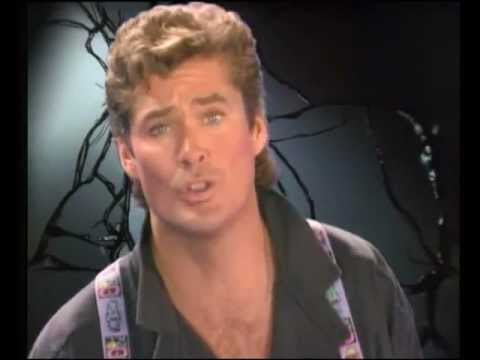 """David Hasselhoff  - """"Song Of The Night""""  Official Music Video"""