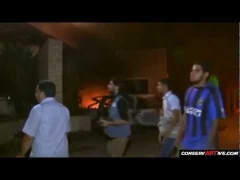 RAW: Libyan Muslims Attack American Consulate, Kill U.S. Ambassador