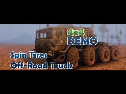 Atolando Geral: Spin Tires Off-Road Truck DEMO