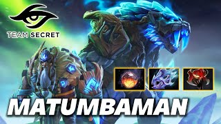 MATUMBAMAN Secret Lone Druid - Dota 2 Pro Gameplay [Watch & Learn]