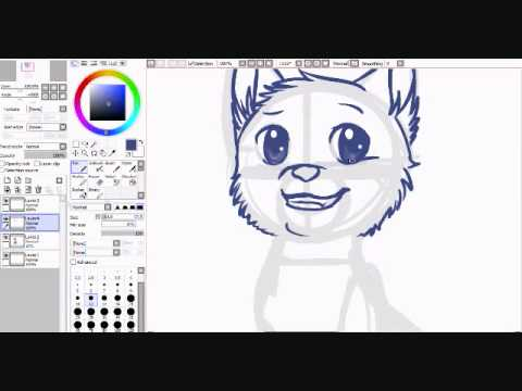 How to Draw Cartoon Warrior Cats How to Draw a Cat Anime Style