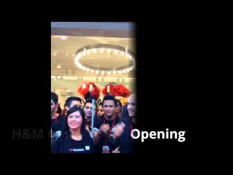 H&M Guadalajara Opening