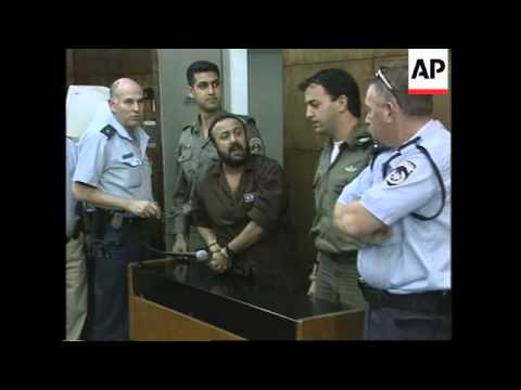 Senior Fatah leader Marwan Barghouti appears in court
