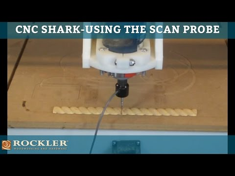 CNC Shark - Using the Scan Probe
