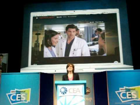Disney-ABC's Anne Sweeney at the 2009 Consumer Electronics Show - Part 3 Video