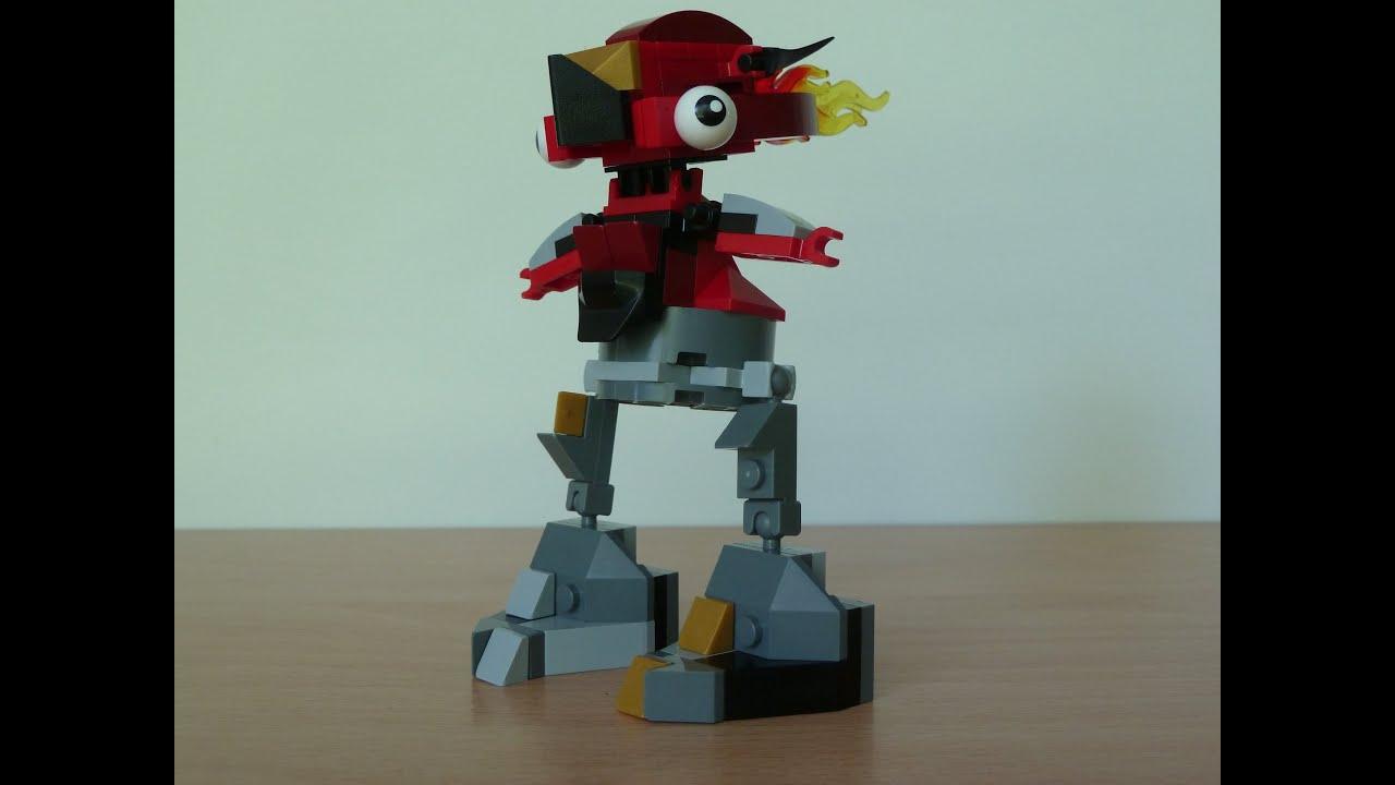 Mixels Flain Lego Mixels Flain And Seismo