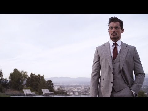 David Gandy: M&S Menswear 2014