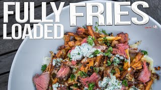 The Best (Homemade) Loaded French Fries | SAM THE COOKING GUY 4K
