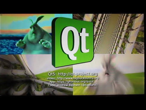 Livecoding video effects with Qt5