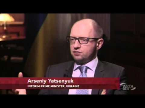 Arseniy Yatsenyuk to world: 'Take real steps'