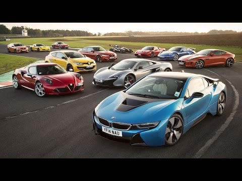 Britain's Best Driver's Car 2014 - Porsche 911 GT3, Ferrari 458 Speciale, Ariel Atom 3.5R