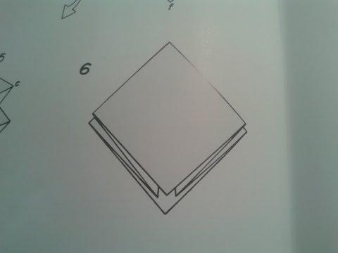 Origami para principiantes: #8 Como hacer la base preliminar