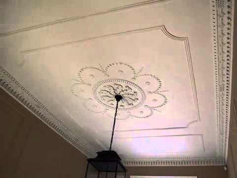 City Crafts - plaster cornice, coving, ceiling roses and plasterers Edinburgh, Scotland