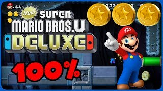 6-7 Shifting-Floor Cave ❤️ New Super Mario Bros. U Deluxe ❤️ 100% All Star Coins