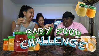 Baby Food Challenge | FOOD FIGHT!!