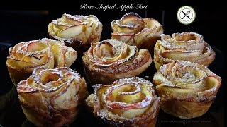 Rose-Shaped Apple Tart – Bruno Albouze – THE REAL DEAL