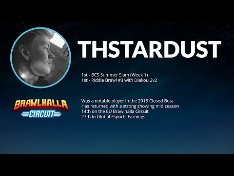 ThStarDust vs Viewers on the Brawlhalla Esports Stream
