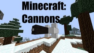 Minecraft 1.2.5: Cannons Bukkit Plugin Review
