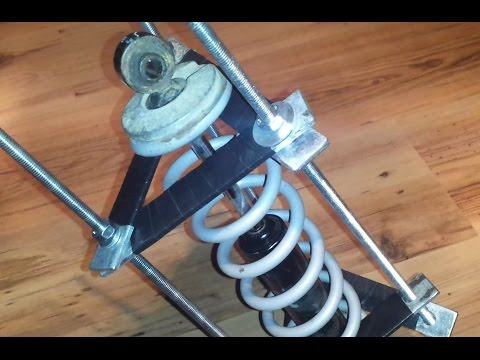 Homemade ATV Shock Spring Compressor