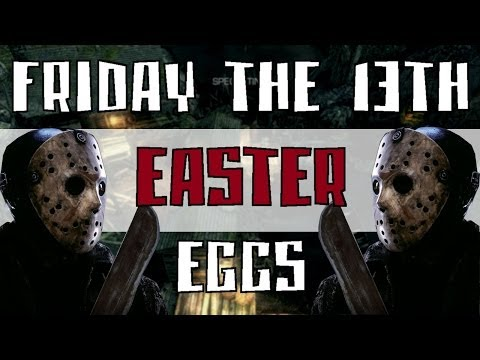 COD GHOSTS FRIDAY THE 13TH Easter Eggs! Jason Easter Eggs Horror...