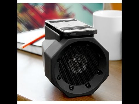 Touch Speaker. Boombox