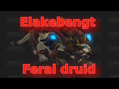 WOW Feral druid PVP patch 5.2 MOP 1vs2 arena + more!